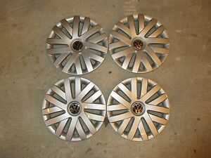 Set Of 4 New 2010 10 2011 11 2012 12 Jetta 16 Hubcaps Wheel Covers 61559