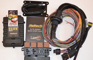 Haltech Elite 2500 Ecu 2 5m 8 Ft Premium Universal Wire in Kit 3 Bar Map