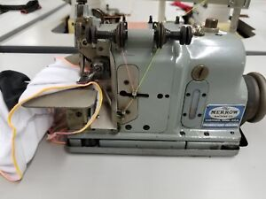 Merrow M 3dw 4 Overlock 1 Needle 3 Thread Industrial Sewing Machine 110v Comp