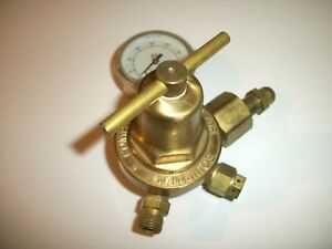 Victor Sr 250 C Compressed Gas Regulator Made In Usa Serial 1867430 See Pic s