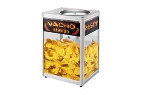 Great Northern Commercial Grade Nacho Chip Warming Station Pop Corn Concession