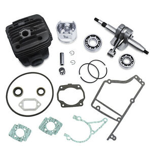Kit Fits Stihl Ts400 Cut Off Saw W Crankshaft Cylinder Piston Rod Rings Gasket