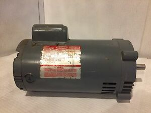 Dayton Jet Pump Motor 1hp 115 230v 60 Hz 1 Ph 3450 Rpm