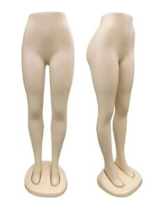 2 Mannequins Lady Lower Torso Display Brazil Body Female Leg Mannequins