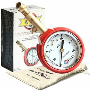 Professional Air Tire Pressure Gauge 60 Psi Best For Car Motorcycle Truck Suv