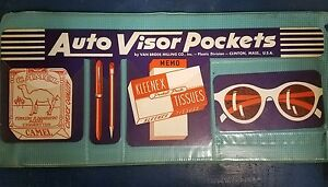 Vintage Car And Truck Visor Pouch