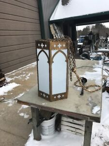 Lt 11 Available Price Each Gothic Hanging Church Light 26 X 14 1 2 6 Foot