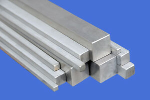 Stainless Steel Square Bar rod 10x10mm 8x8mm 6x6mm 4x4mm 3x3mm in Many Lengths