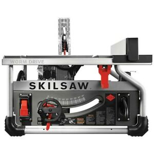 Skillsaw 10 In Worm Drive Table Saw With Diablo Blade