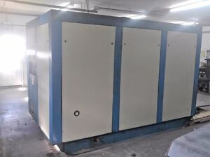 Quincy Qsi 1500 300 Hp Screw Air Compressor 1500 Cfm
