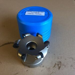 3 X 1 Round Indexable Face Mill Cutter With 6x Rpmt Insert
