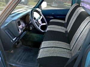 Saddle Blanket Car Truck Bench Seat Cover Full Size Pickup Truck Rear Bench Seat
