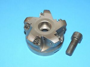 Ingersoll 3 High Feed Indexable Face Mill For Uneu Inserts dg6h 30r01