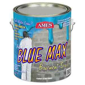 Ames 1 gallon Blue Max Liquid Rubber Membrane Waterproofing Coating new