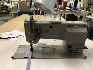 Highlead 2 Needle 3 8 Walking Foot Sewing Machine Head Only