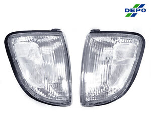 Depo Jdm Pair Clear Corner Lights For 1997 2000 Toyota Tacoma 2wd Non prerunner
