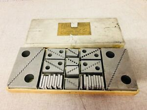 Jergens Set Of Aluminum Step Up Blocks Work Holding Machinist Tool Maker Tools
