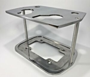 Polished Billet Aluminum Smooth Optima Battery Tray 34 78 Blue Yellow Red Top