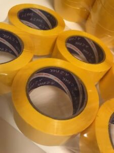 Yellow Acrylic Packing Tape 2 0 Mil 2 X 330 48 Mm X 110 Yards 36 Rolls
