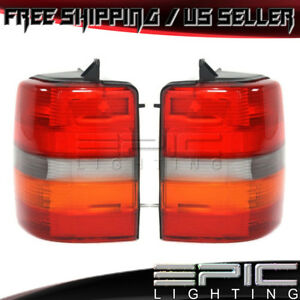 1993 1998 Jeep Grand Cherokee Left Right Sides Pair Rear Brake Tail Lights