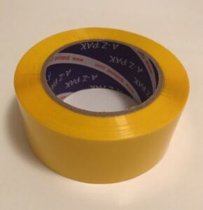 Yellow Acrylic Packing Tape 2 0 Mil 2 X 330 48 Mm X 110 Yards 1roll 1pc