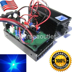 450nm 3500mw 3 5w Blue Laser Module W Ttl Driver Board For Diy Laser Cutter