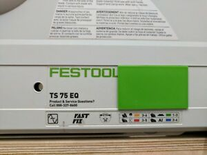 Dust Collection Cover Plate For Festool Ts 75 Saw