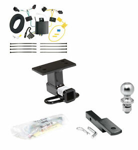 Class 2 Draw tite Trailer Hitch Tow Kit W 2 Ball Wiring For Vw Tiguan