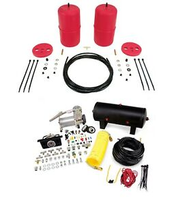 Air Lift Control Air Spring Dual Air Compressor Kit For Jeep Grand Cherokee
