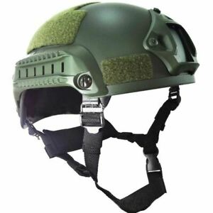 Mich 2001 Tactical Operation Airsoft Paintball Helmet wargame ARC Rail NVG Mount $137.22
