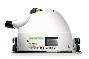 Festool Ts 75 Req Imperial Plunge Cut Track Saw 575390 with 75 Rail