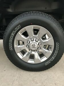 F 250 Ford King Ranch 2017 New Tires And Wheels Set Of 4