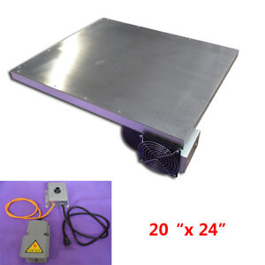Screen Printing Vacuum Press Board Stainless Steel Press Pallet No Need Paste