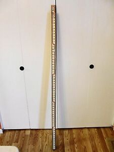 David White 14ft Surveyors Survey Transit Pole Extendable Stick