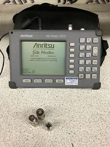 Anritsu Site Master S331c Cable Feed Line And Antenna Fault Locator
