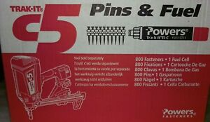 Powers Trak it C5 Pin And Fuel Lot Of 2 55328