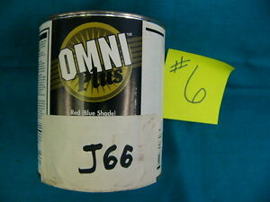 Ppg Paint Tint Omni Plus M582 Shop Line J66 Quindo Red Mixing Base 1qt 6
