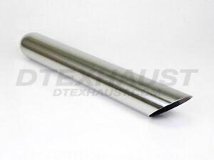 Different Trends Dt 243024ac Exhaust Stainless Tip 2 25 X 3 00 X 24 Angle