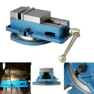 4 Milling Machine Lockdown Vise 360 Degree Swiveling Base Hardened