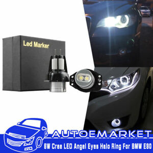 Led Angel Eyes Halo Ring Marker Light Bulb For Bmw E90 2006 2008 323i 328i 330xi