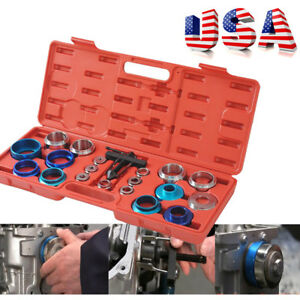 Usa Camshaft Bearing Oil Seat Remover Installer Tool Kit Set Crank Seal Removal