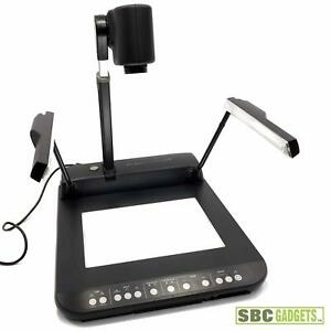Elmo Visual Presenter overhead Document Camera Tested model Ev 400 Af