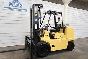 Hyster S155xl2 15 500 Lp Gas Cushion Tire Forklift Sideshift 106 134 Mast