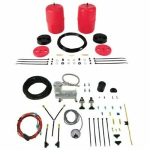 Air Lift Control Air Spring Dual Air Hd Compressor Kit For Toyota Sequoia