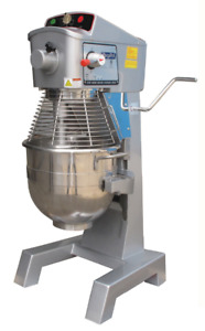 new Atosa Preppal Ppm 30 Planetary 30 Quart Bakery Dough Mixer 3 Attachments
