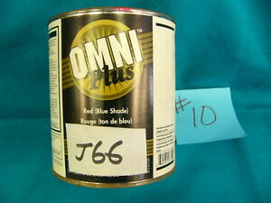 Ppg Paint Tint Omni Plus M582 Shop Line J66 Quindo Red Mixing Base 1qt 10