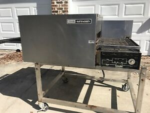 Lincoln Impinger Conveyor Pizza Oven Model 1132 Used 208 3 Phase Electric