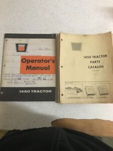 Used Oliver Tractor Operators And Parts Manual