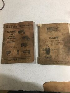 Used Vintage Case Va Tractor Engine Service And Parts Manual