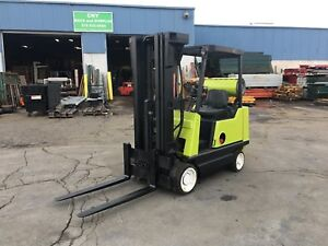 Clark 4500lb Lp Forklift 42 Forks 15 Lift Height Cushion Tire